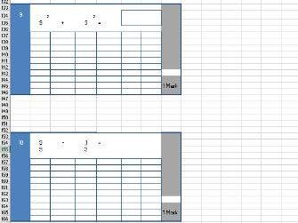 Year 5 Summer Arithmetic Paper - regenerating