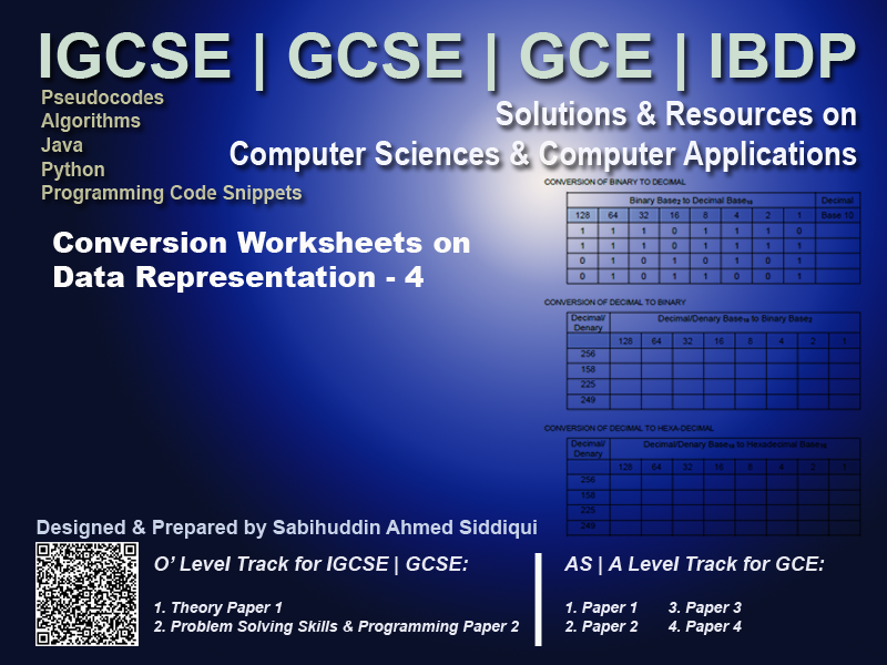 Exam Worksheet: Computer Science for IGCSE | GCSE (0478 | 2210) Page 4