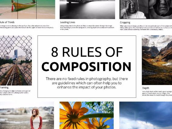 Photography. 8 Rules of Composition.
