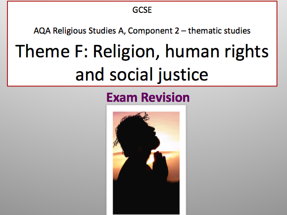 RELIGION, HUMAN RIGHTS & SOCIAL JUSTICE