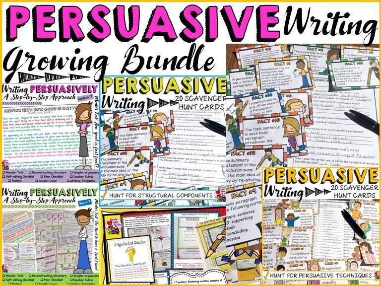 PERSUASIVE WRITING BUNDLE