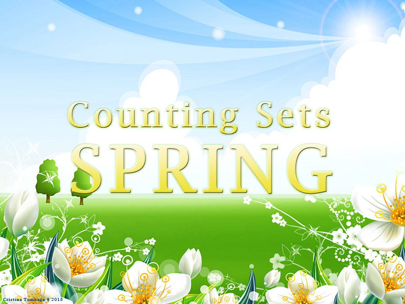 Counting Sheets ( Spring theme)