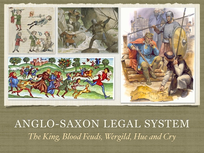 gcse history anglo saxon legal system by lukaszlucky