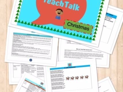 CHRISTMAS Speech & Language Circle Time Activity Pack-13 Pages. EYFS