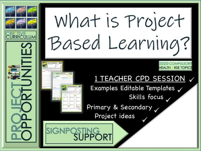 Project Based Learning Training for Teachers