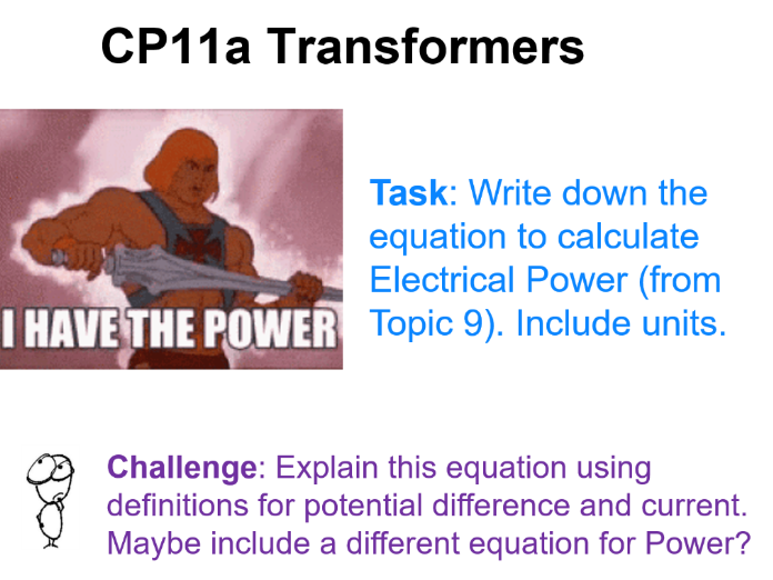 Transformers CP11a Edexcel 9-1 GCSE Physics Electromagnetic Induction