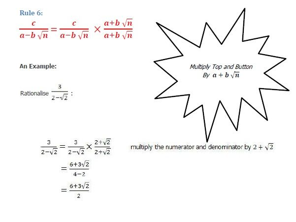 Edexcel GCSE 9 to 1 Mathematics Surds  Notes and Exam type Questions