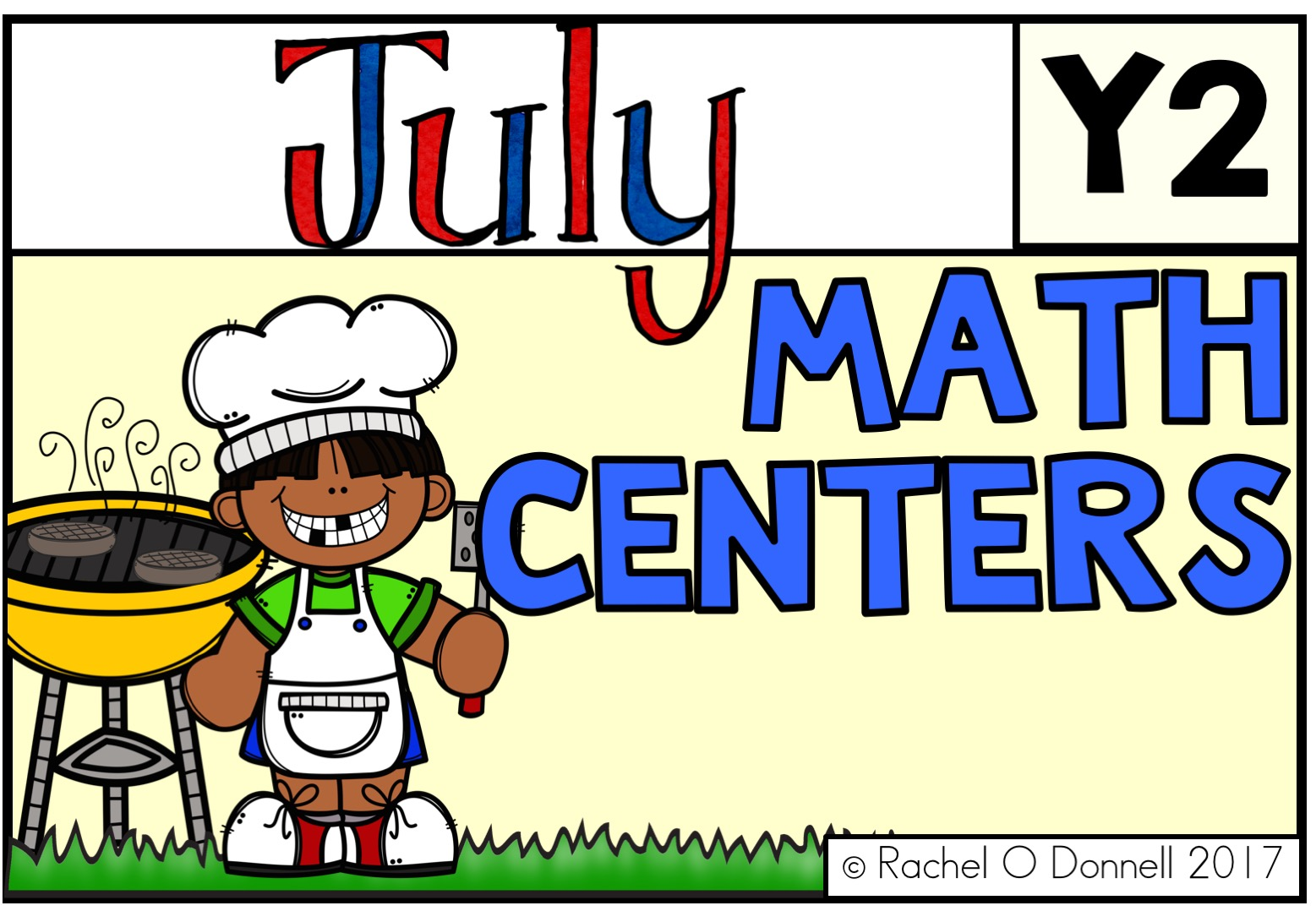 July Maths Centers Year 2