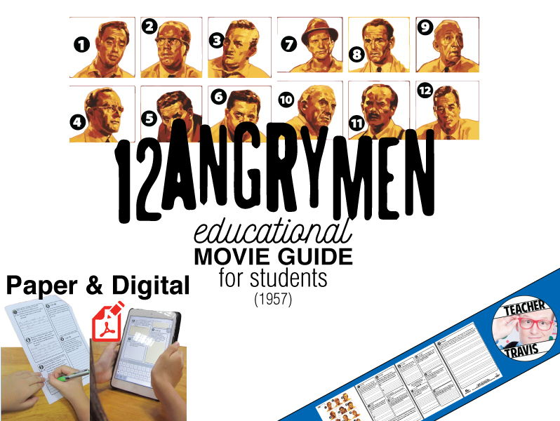 12 Angry Men Movie Viewing Guide