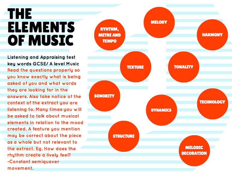 Music Elements Keywords