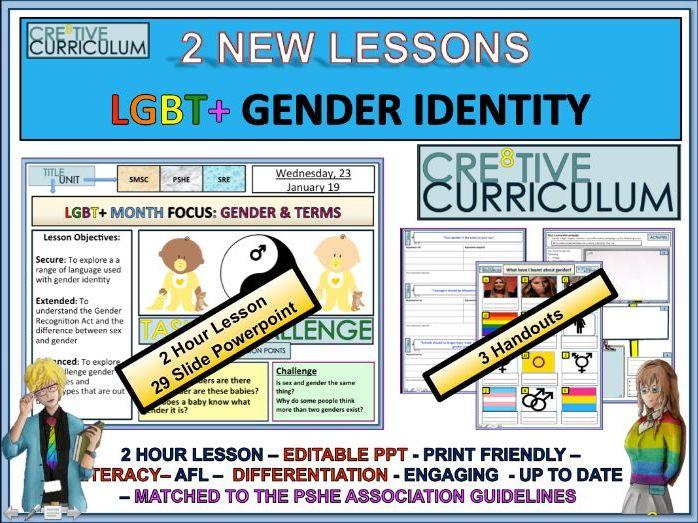 LGBT Gender Identity - PSHE - RSE/C8/LS/14