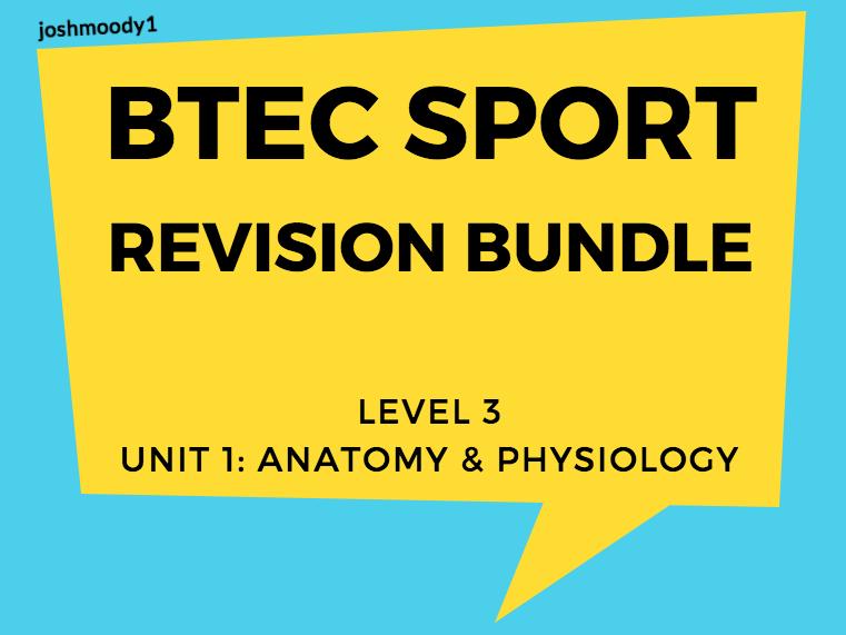 BTEC Sport. Revision Bundle. Level 3. Unit 1.