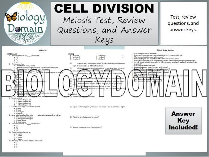 Biology Domain - Teaching Resources - TES