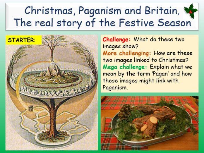 The Pagan Origins of Christmas