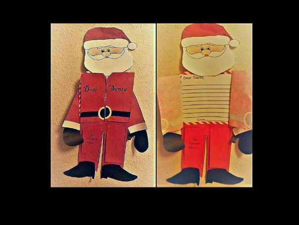 Letter to Father Christmas Craft