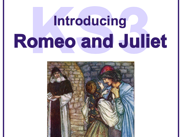 KS3 Introducing Romeo and Juliet Scheme of Work