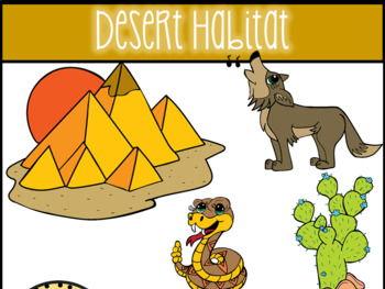 Desert Habitat Clip Art