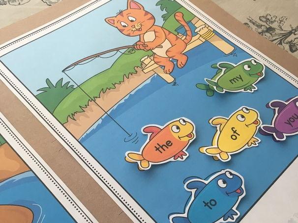 Kindergarten ELA File Folder Activities