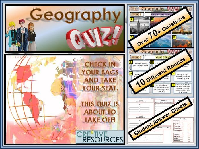 Big Geography Quiz