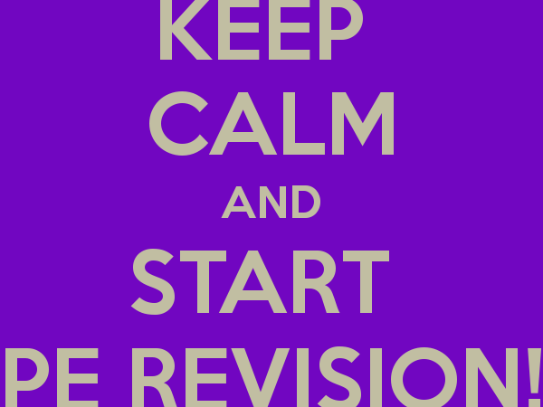 GCSE Physical Education Revision Packs