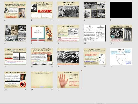 9-1 Weimar and Nazi Germany: Nazi Youth Groups and Opposition