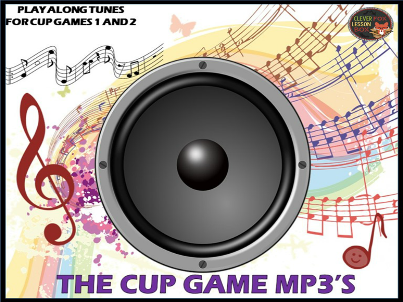 Cup Game MP3 Play Alongs