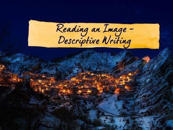 Descriptive Writing Lesson - Reading an Image