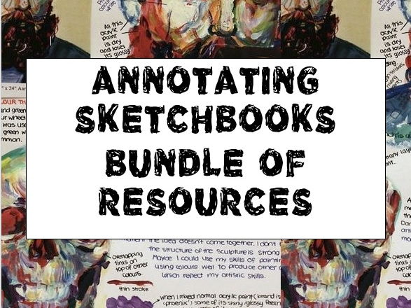 Annotating Sketchbooks Bundle