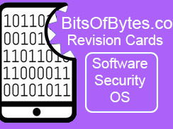 Computer Science Flash Cards  GCSE / IGCSE- Software and Security