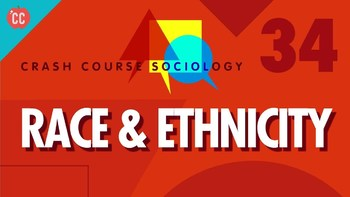 Crash Course Sociology E#34 Race and Ethnicity  Q & A Key