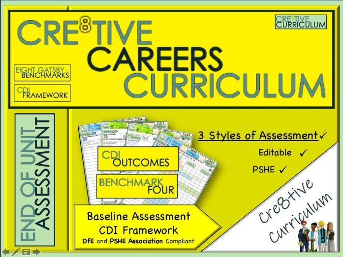 Year 8 Cre8tive Careers Baseline Assessment