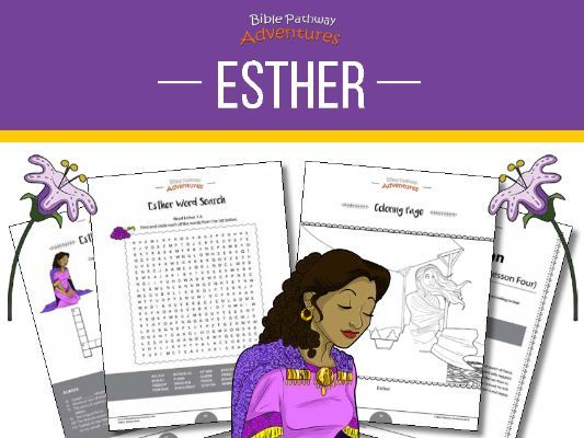 Esther Activity Book and Lesson Plans
