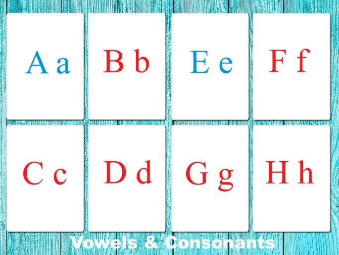 FULL Print letters / Capital - Small / UPPERCASE - lowercase / English alphabet