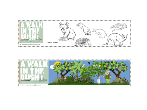 A Walk In The Bush by Gwyn Perkins Bookmarks CBCA Australia Find Your Treasure