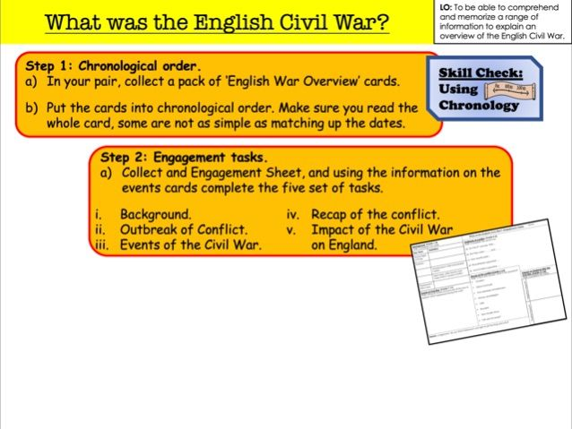 What was the English Civil War?