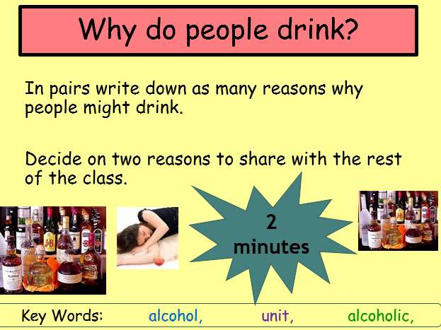 Alcohol and the effects on the body
