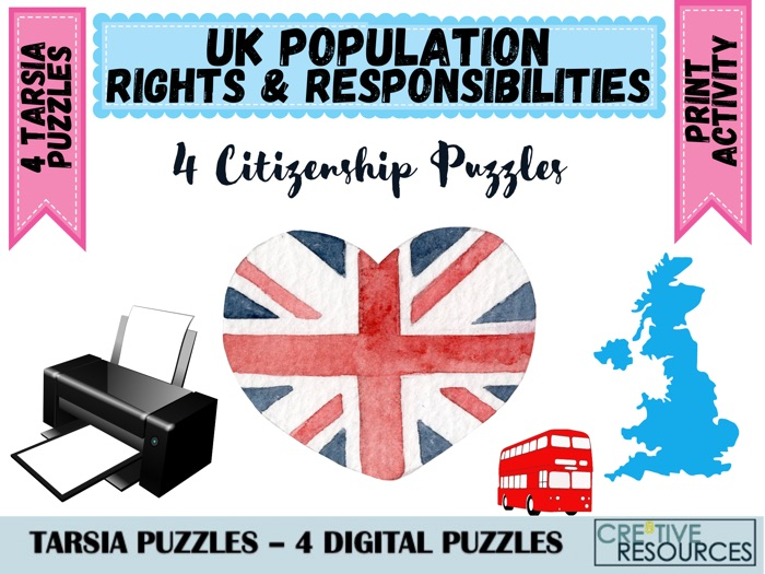 Rights and Responsibilities Puzzles