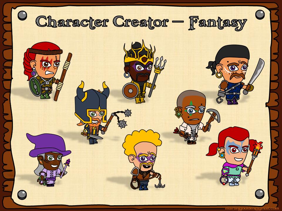 Fantasy Story Character Creator