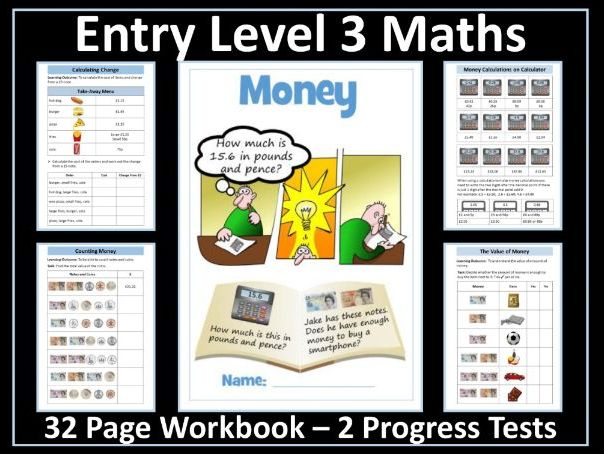 Money AQA Entry Level 3 Maths