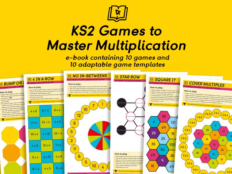 KS2 Games to Master Multiplication eBook