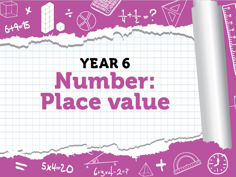 Year 6 - Place Value - Week 2 - Round any Number and Negative Numbers