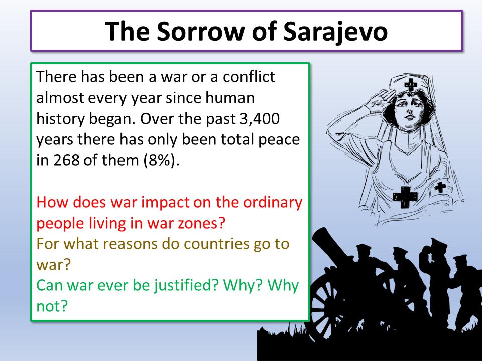 War Poetry Sorrow of Sarajevo