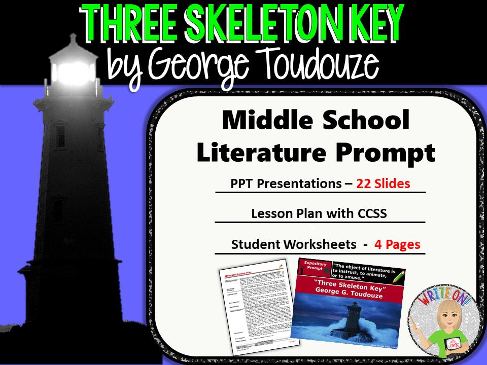 Three Skeleton Key by George Toudouze - Text Dependent Analysis Expository Writing