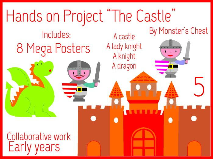 "Hands on project ""The Castle"" 5 Mega posters"