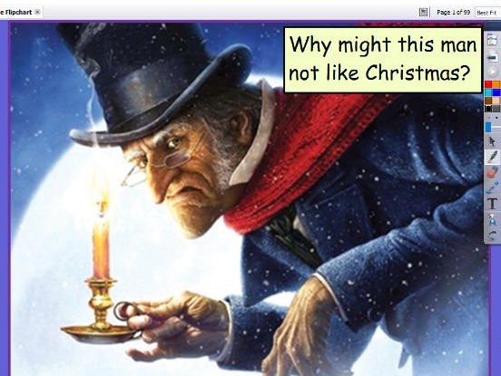 A Christmas Carol for Not High School Ready Learners