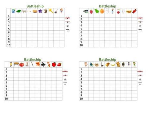 battleship game plurals