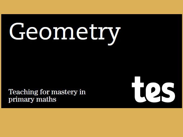 Geometry: Teaching for mastery booklet