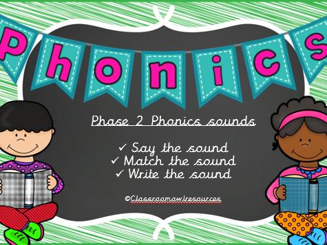 Phase 2 Phonics powerpoint