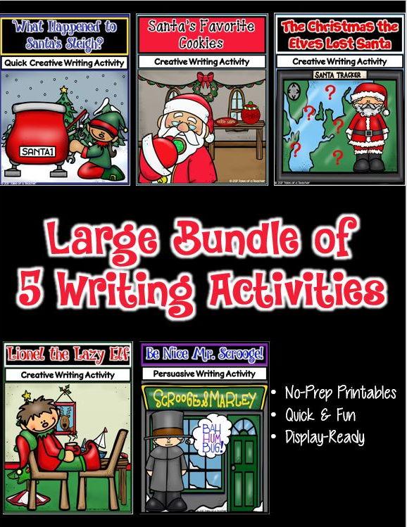 Christmas Writing Bundle 2