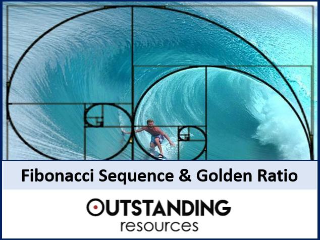 Algebra: Sequences 5 - Fibonacci Sequence, Golden Number, Ratio & Golden Spiral (2 lessons)